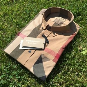 new BURBERRY LONDON ENGLAND COLOR CAMEL %100COTTON